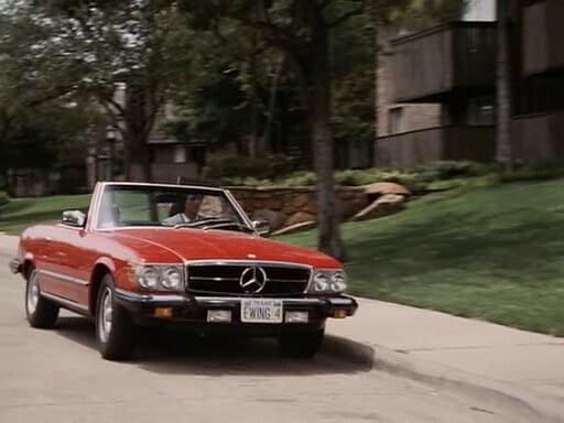 Mercedes-Benz SL380 TV-sarjasta Dallas