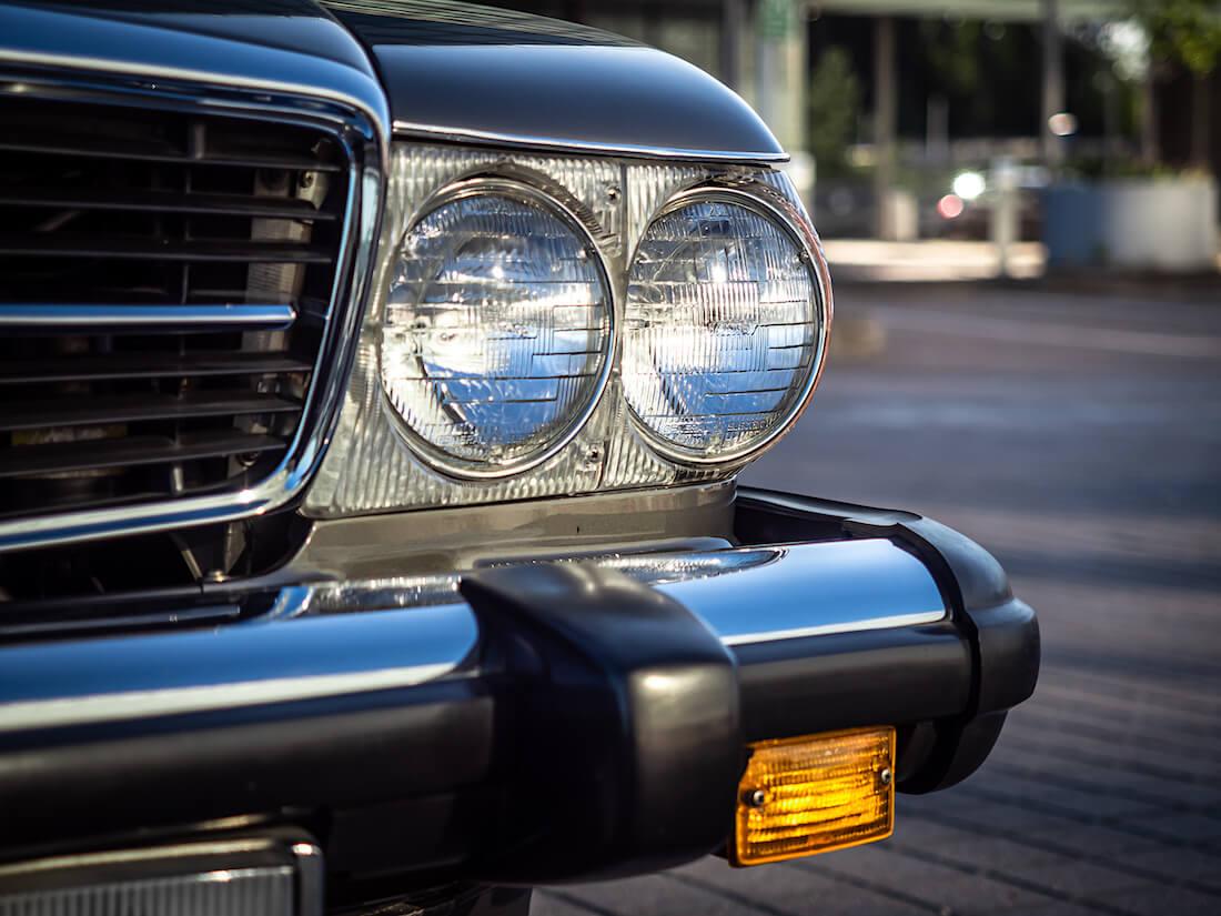 Mercedes-Benz SL:n Sealed beam -ajovalot