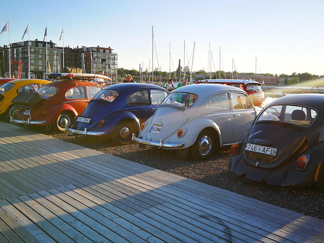 Volkkareita autotapahtumassa Virossa