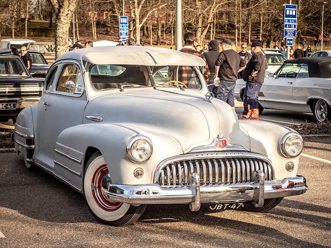 1947 Buick Special 2d Sedanette V8 jenkkiauto