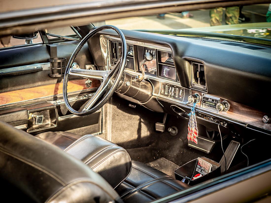 1968 Buick Electra 225 museoauton sisusta