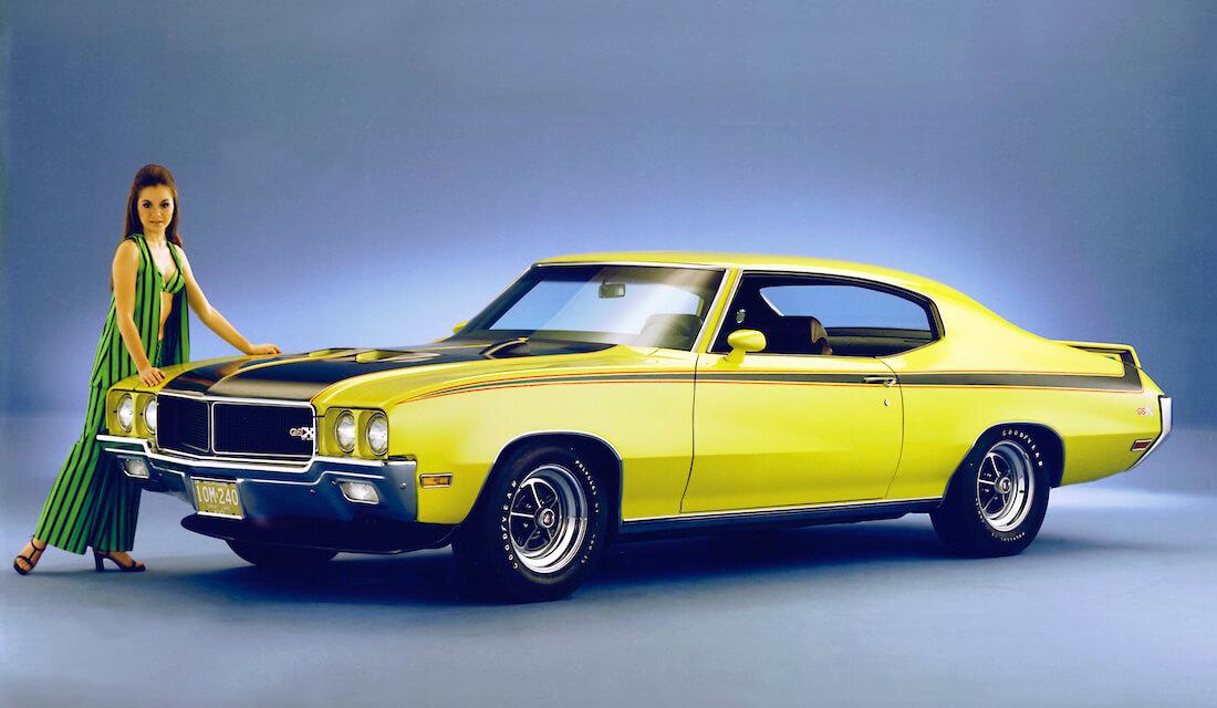 1970 Buick GSX 455 Stage 1 muskeliauto