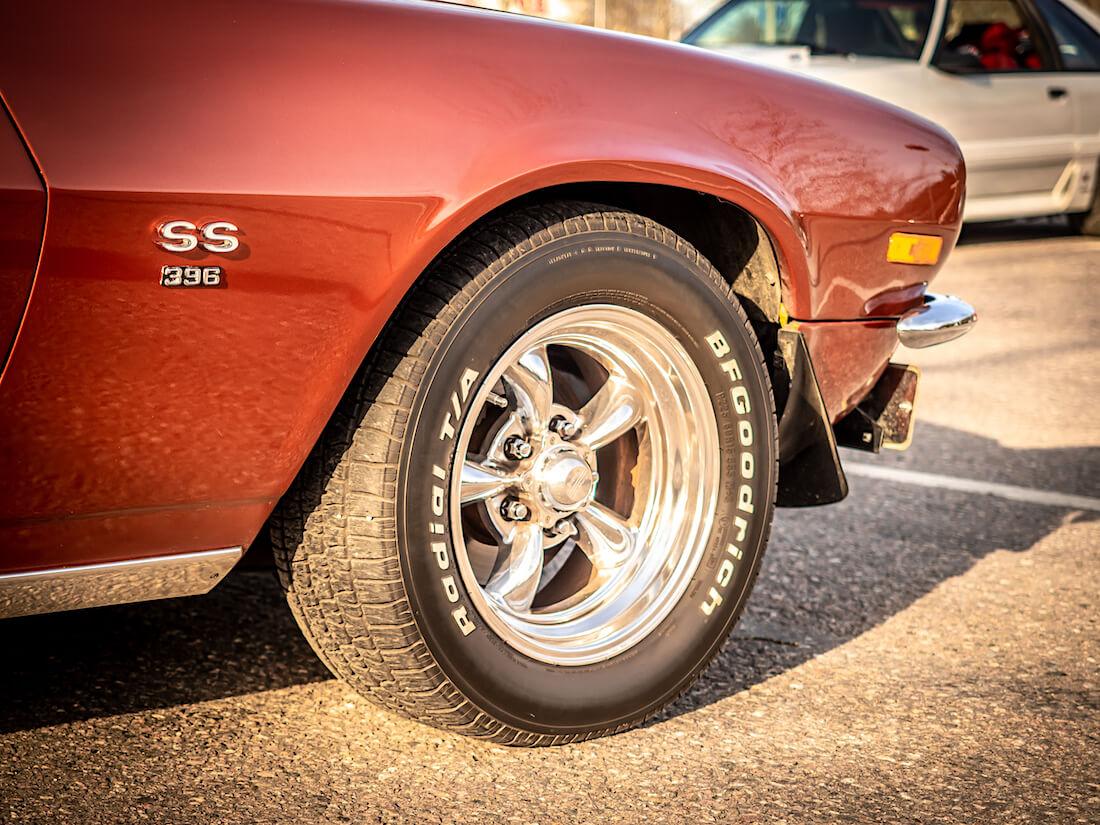 1970 Chevrolet Camaro Super Sport SS-merkki