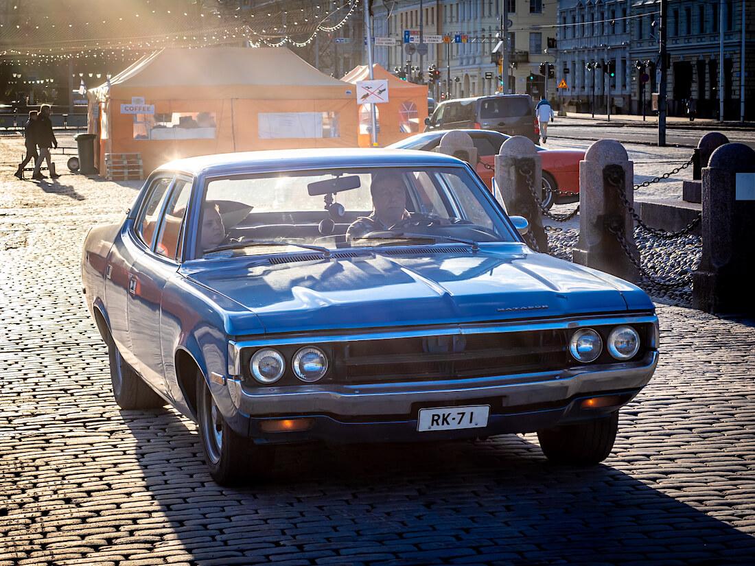 Sininen 1971 AMC Matador 401cid sedan