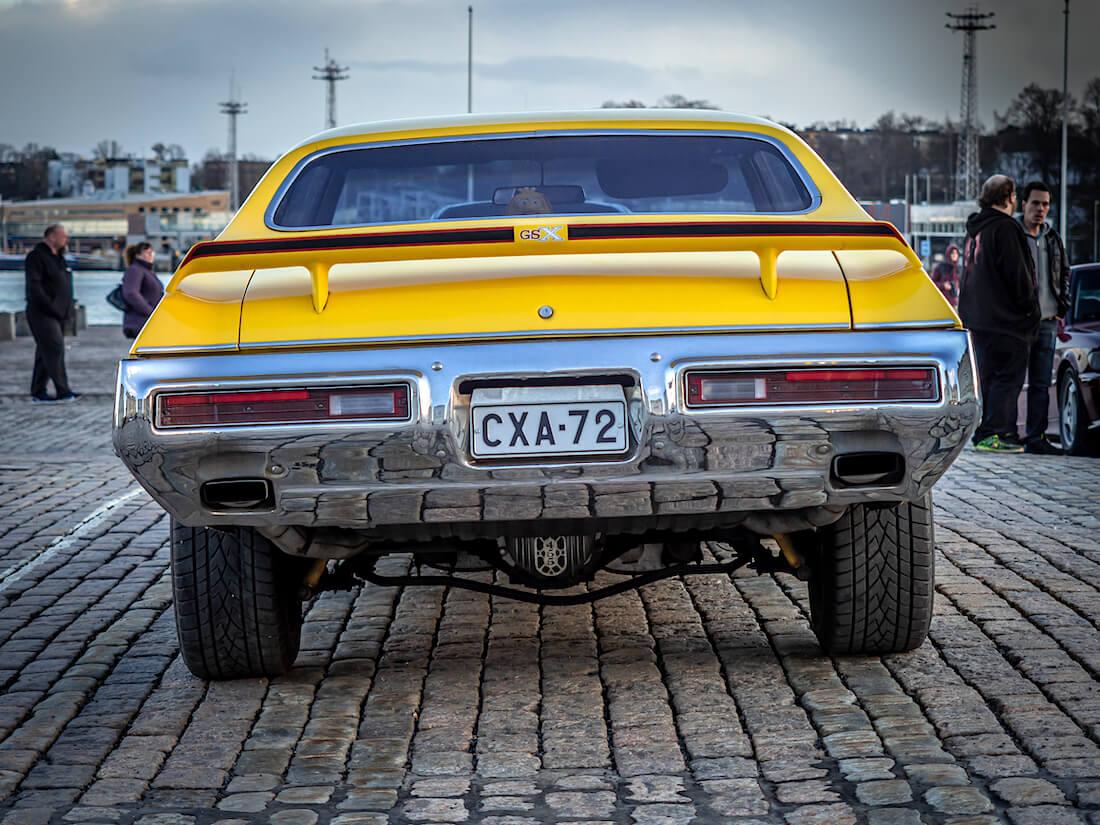 1972 Buick Skylark GSX takaa