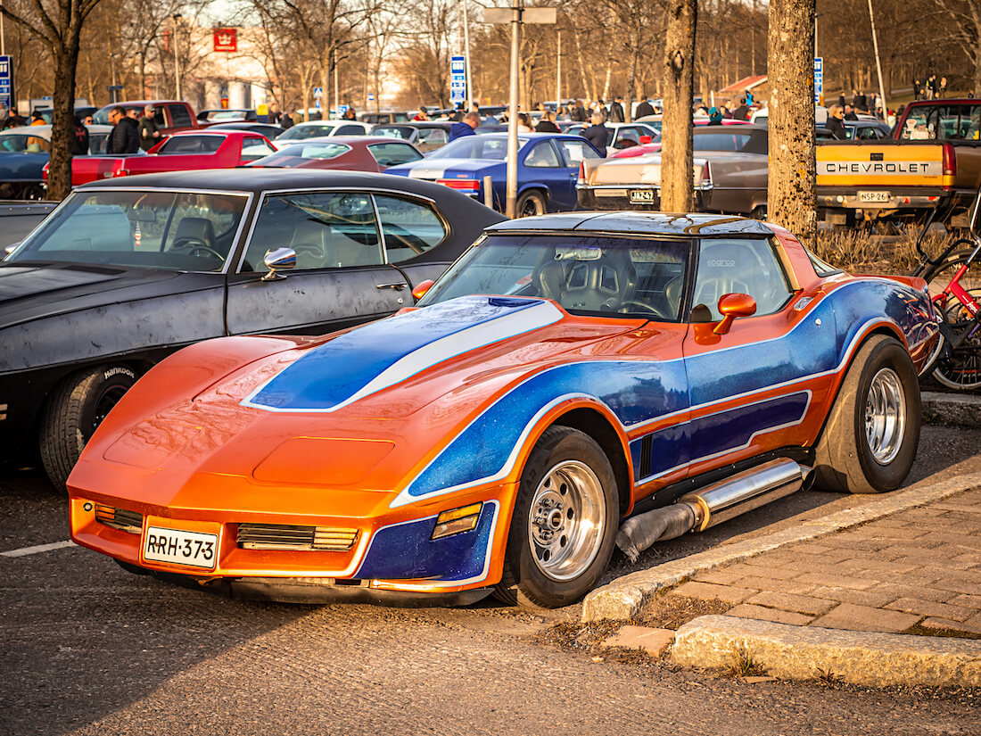 1982 Chevrolet Corvette C3 kylkiputkin