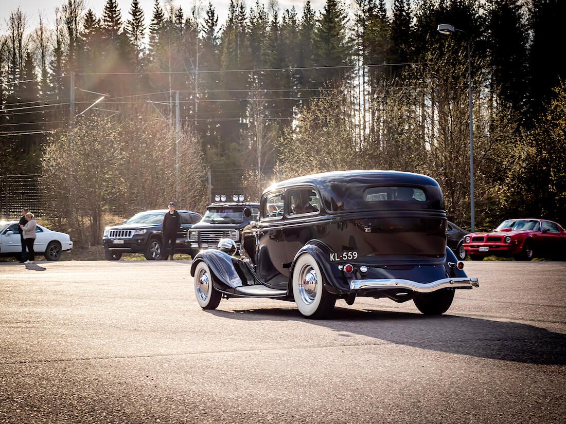 1934 Ford Model 40B V8 custom