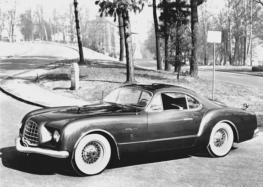 1953 Chrysler D'Elegance näyttelyauto