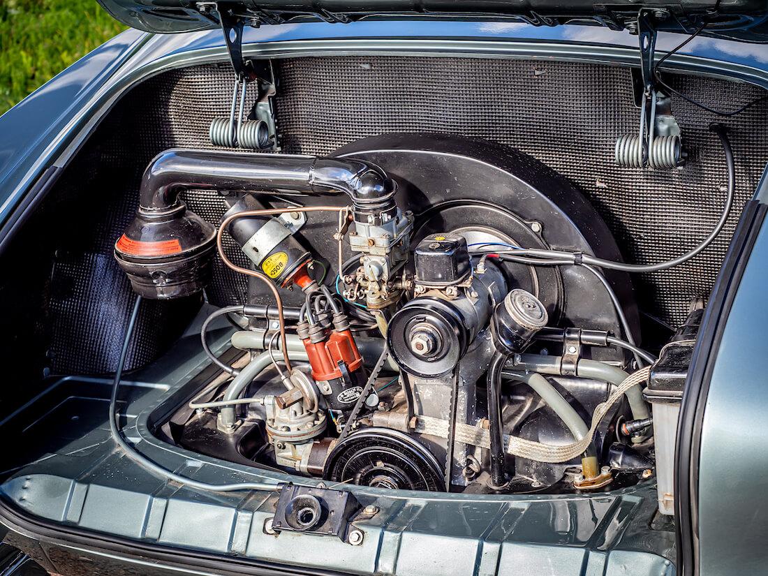 1957 Volkswagen Karmann Ghian 1200-moottori