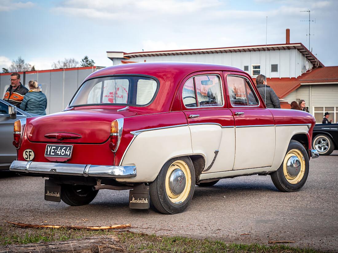 1963 Moskvitsh 403 Scandinavia museoauto