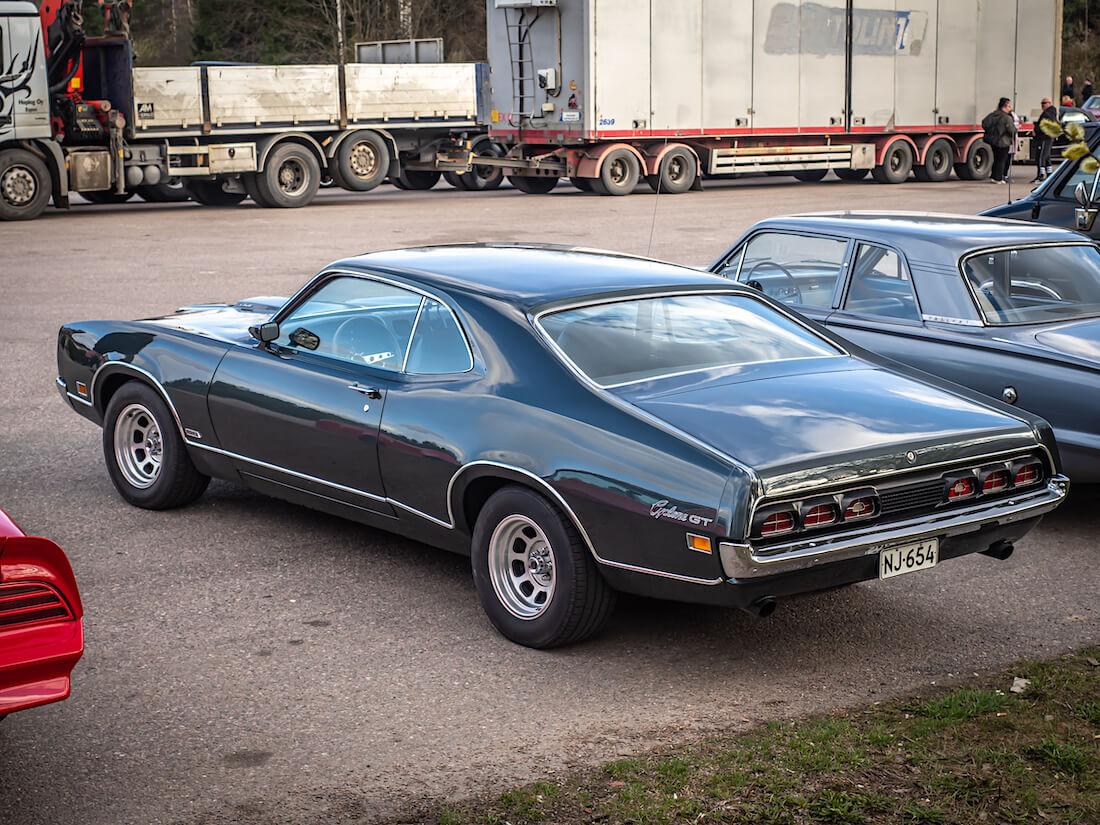 1970 Mercury Cyclone GT 429cid V8-moottorilla