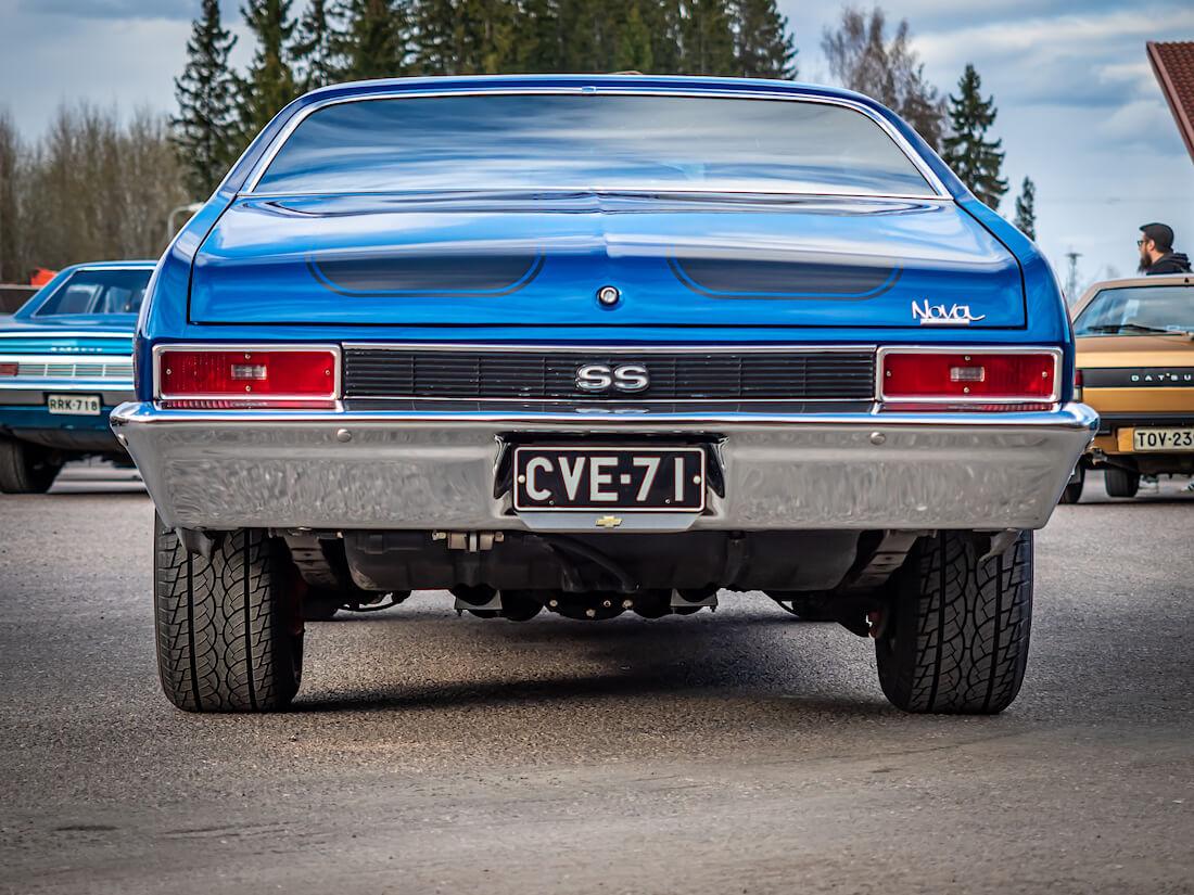 1971 Chevrolet Nova 350cid V8 takaa