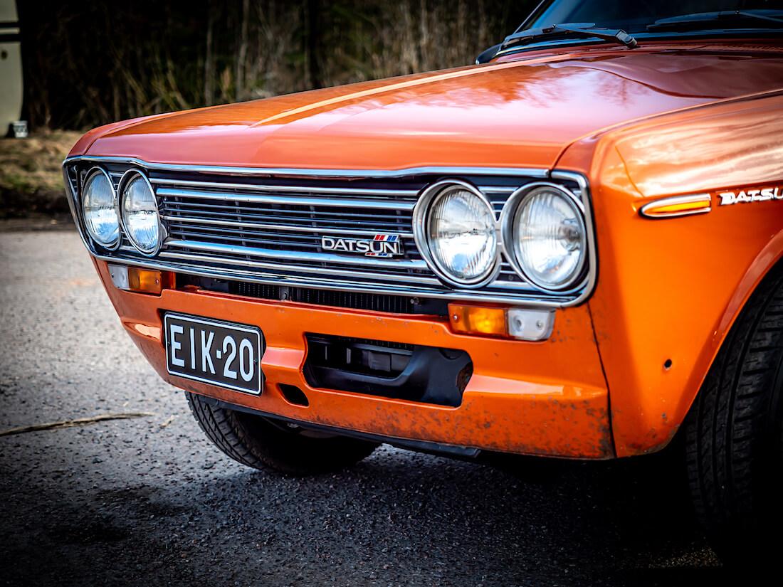 1971 Datsun 1600 Deluxe 4d Sedan keula