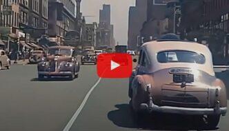 Autokyyti halki 1940-luvun New Yorkin
