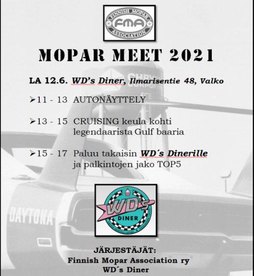 FMA Mopar Meet 2021 Loviisassa