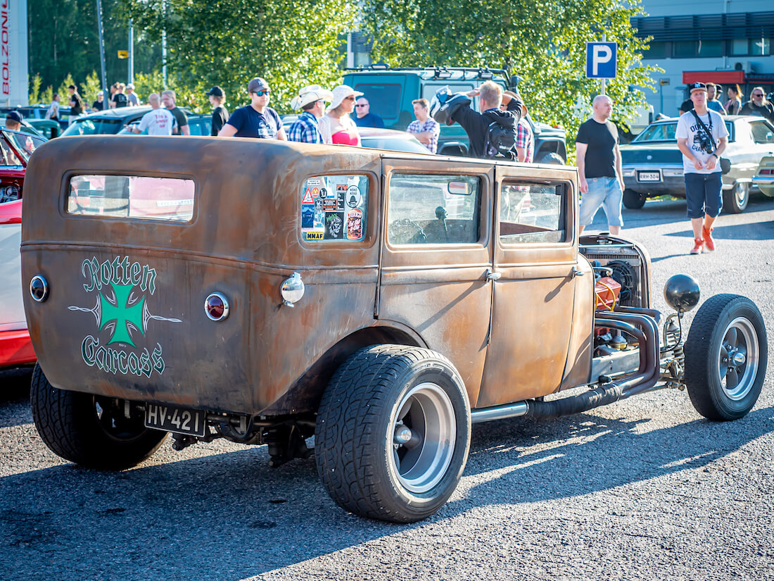 1929 Essex Standard rat rod 305cid Chevy V8