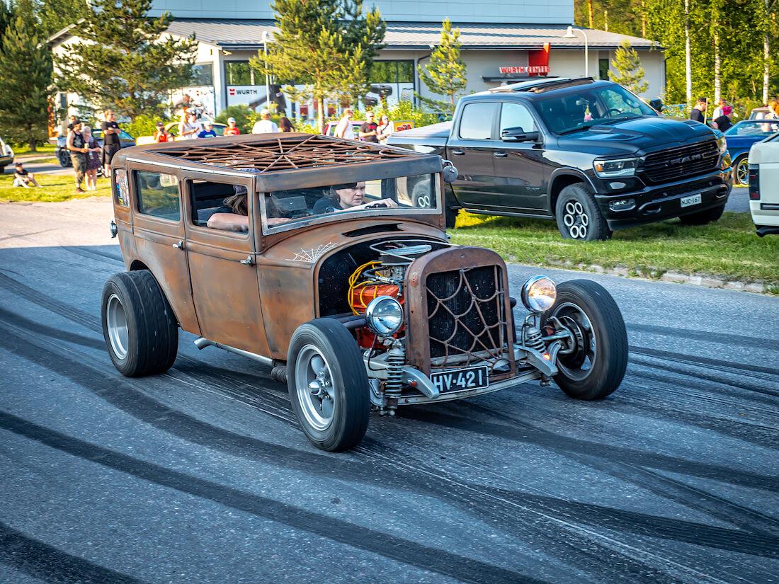 1929 Essex 4d Stadard Sedan rat rod