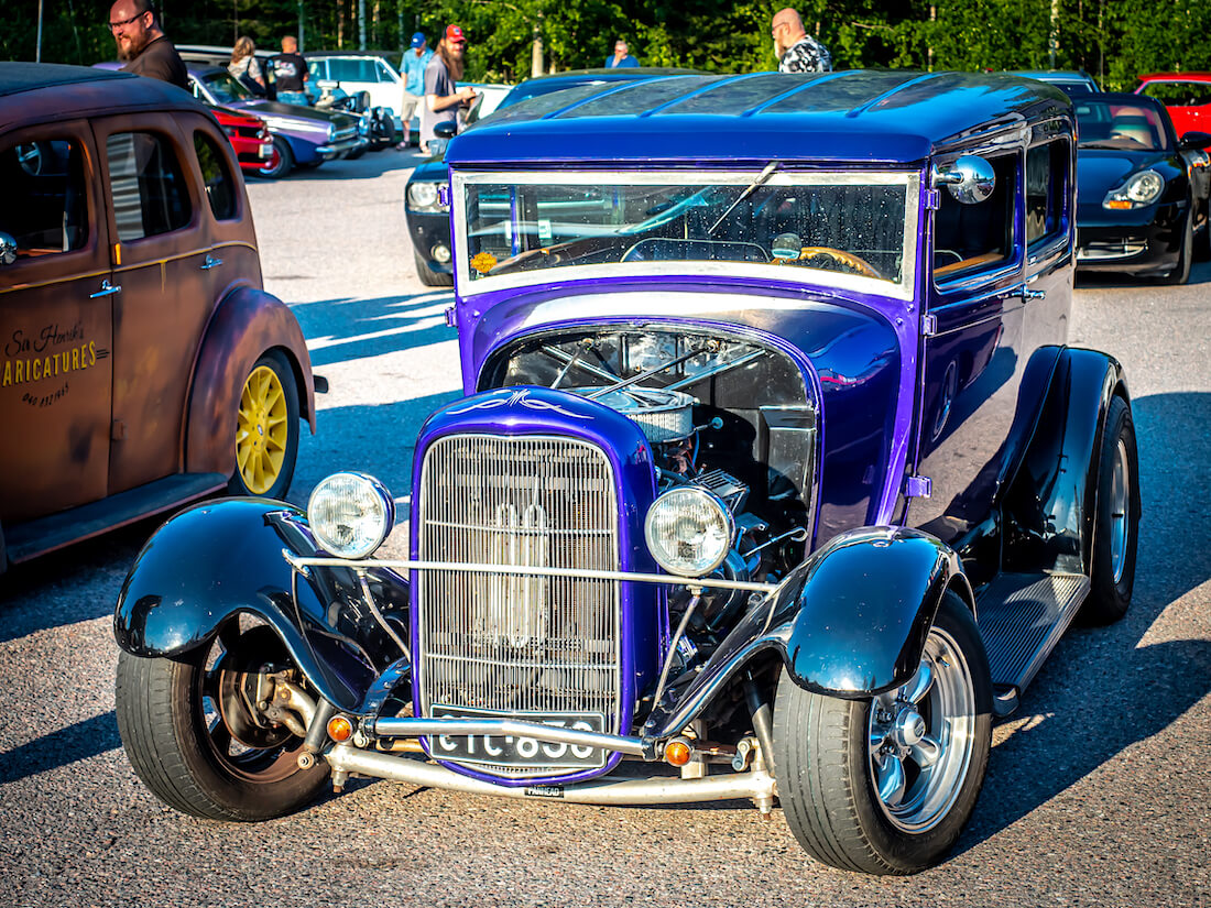 1930 Ford Model A Tudor rodi