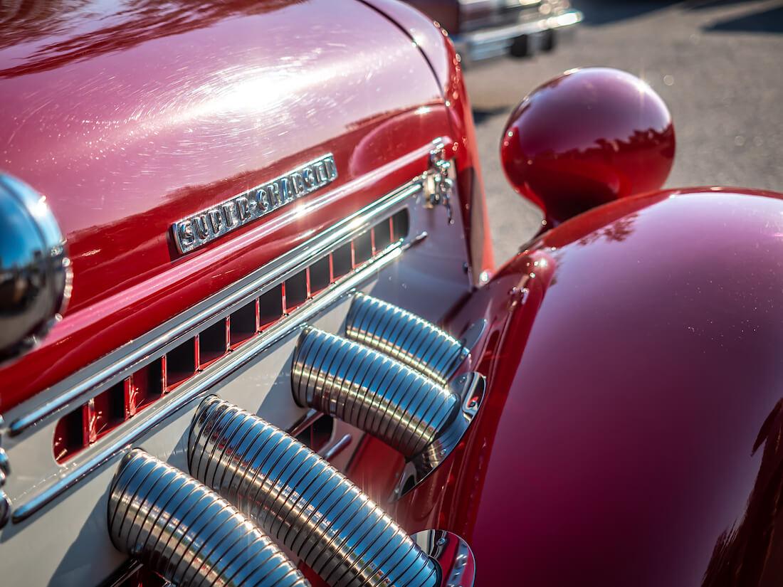 1936 Auburn Speedsterin pakosarja