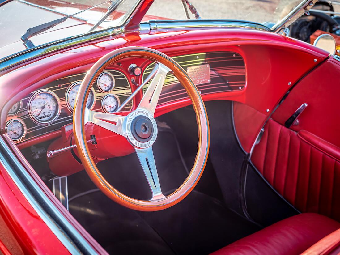 1936 Auburn Speedsterin sisusta