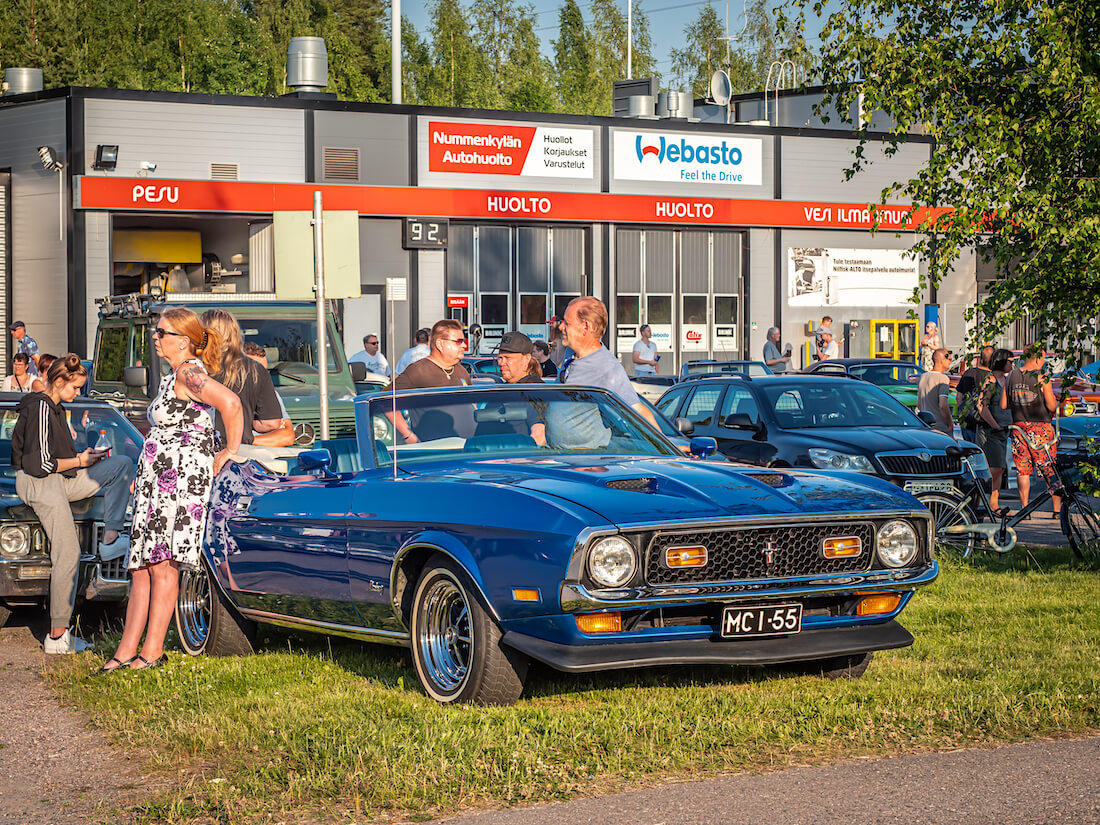 Museorekisteröity 1972 avo-Mustang