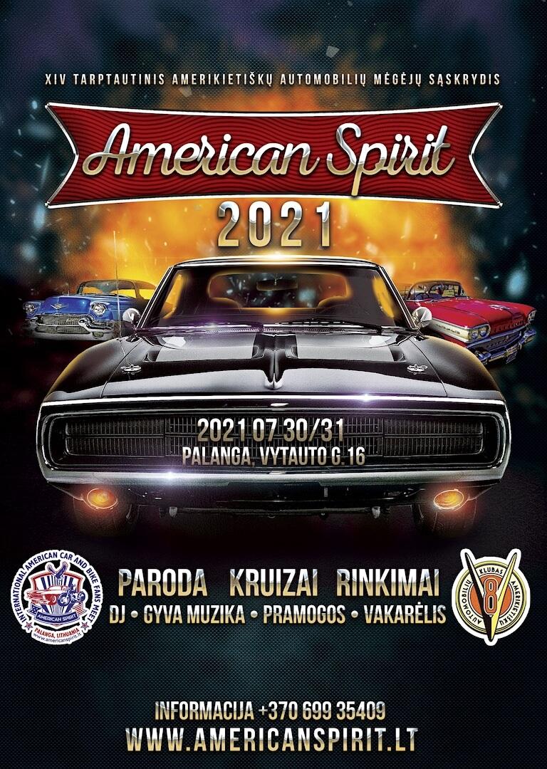 American Spirit 2021 tapahtuman mainos
