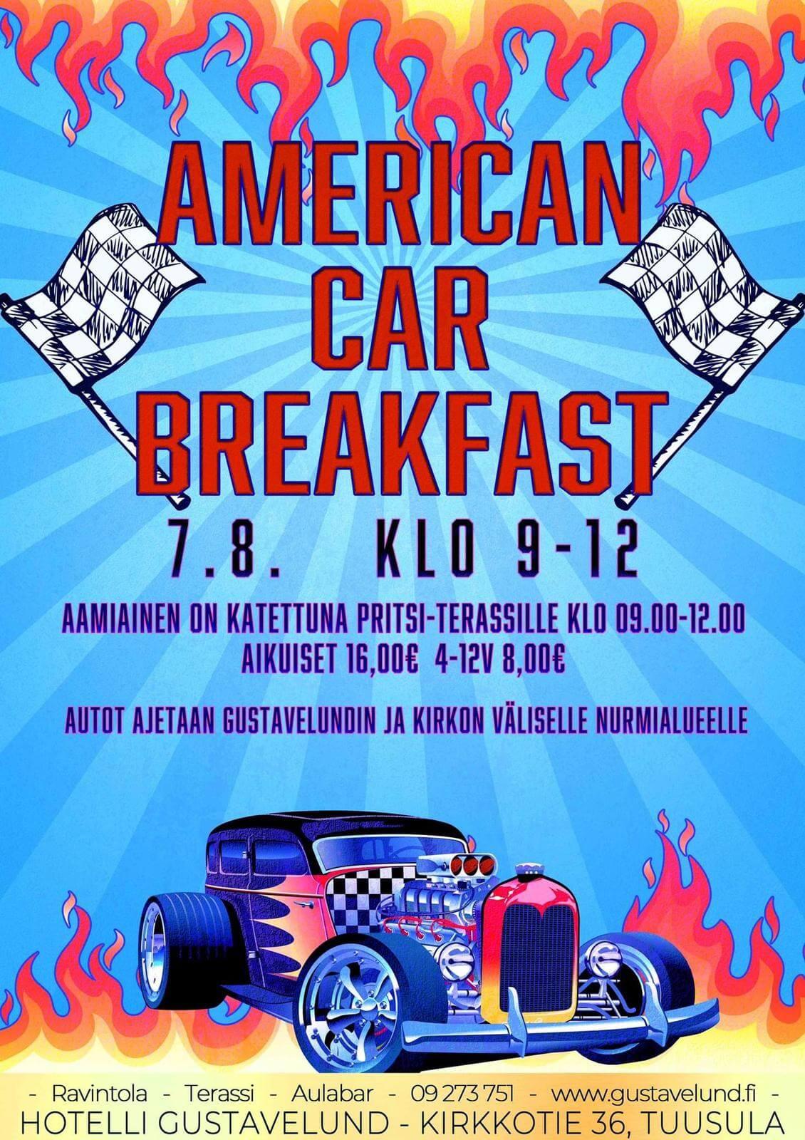 American Car breakfast 7.8.2021