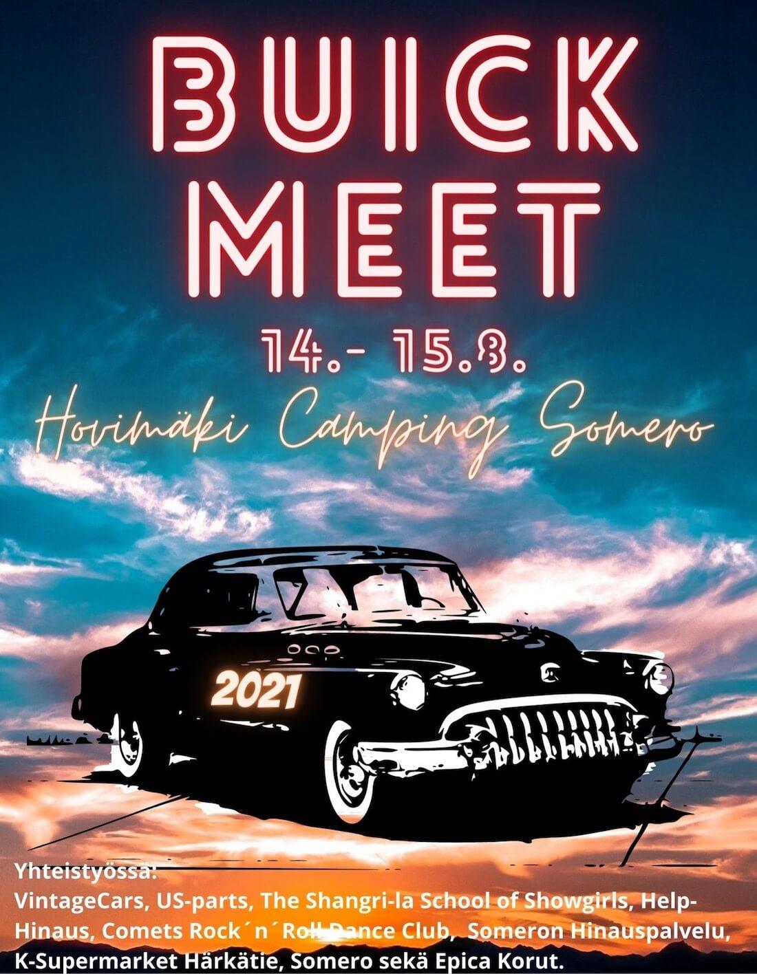 Buick Meet 2021 juliste