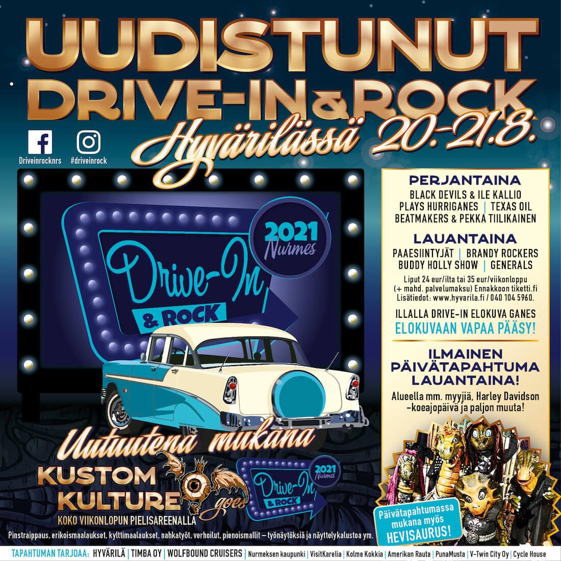 Drive-In & Rock Nurmes 2021