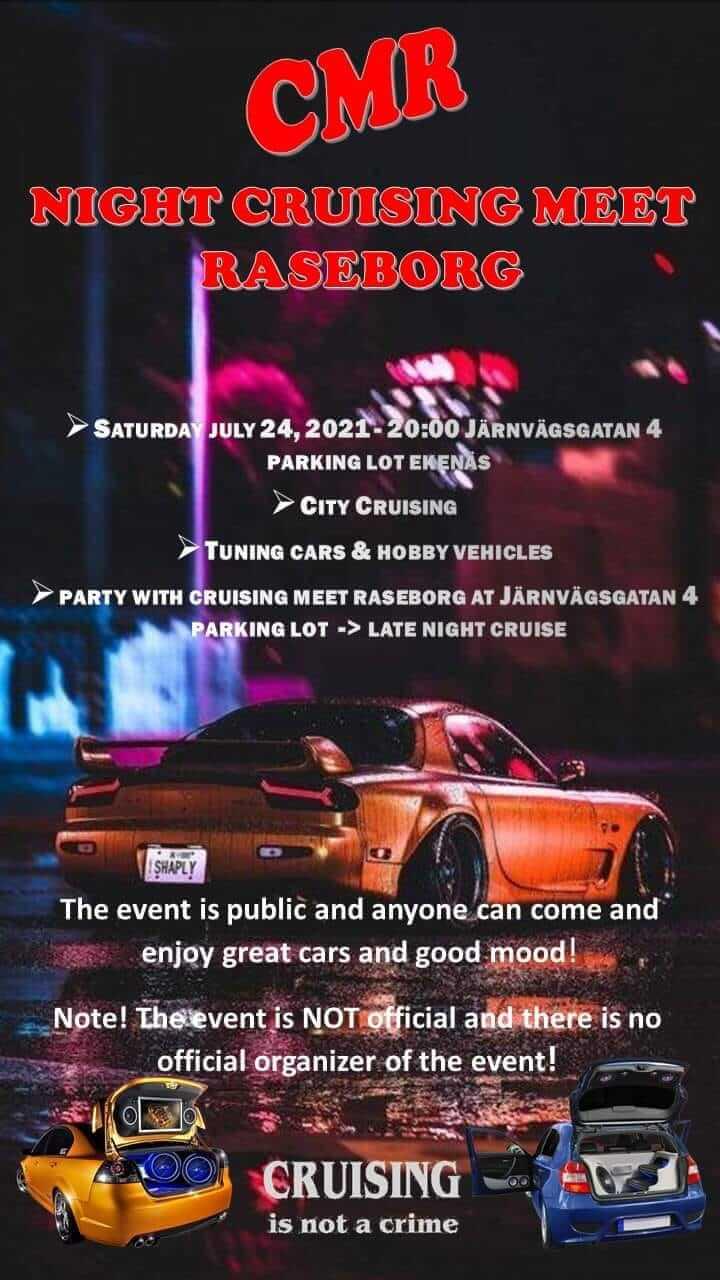 Night Cruising Meet Raseborg 2021