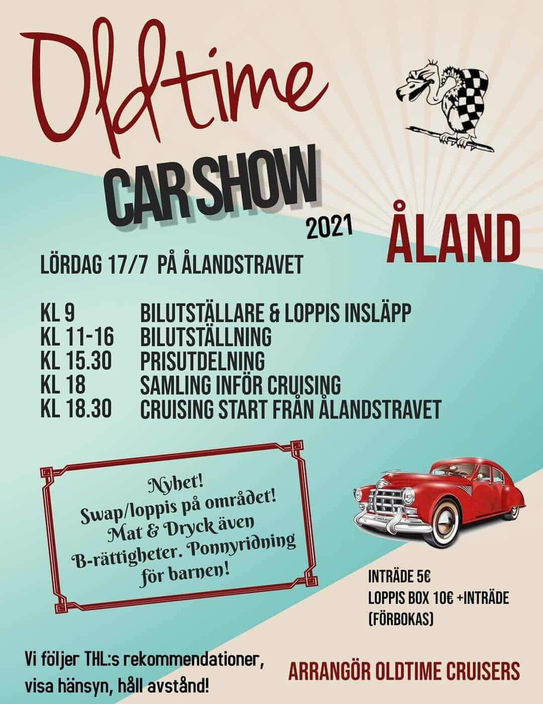 Oldtime Car Show Ahvenanmaa 2021