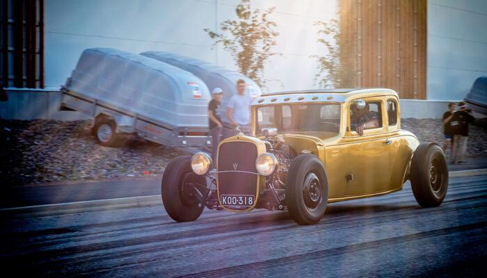 1933 Chevrolet 2d Coupe V8-rodi Porvoossa