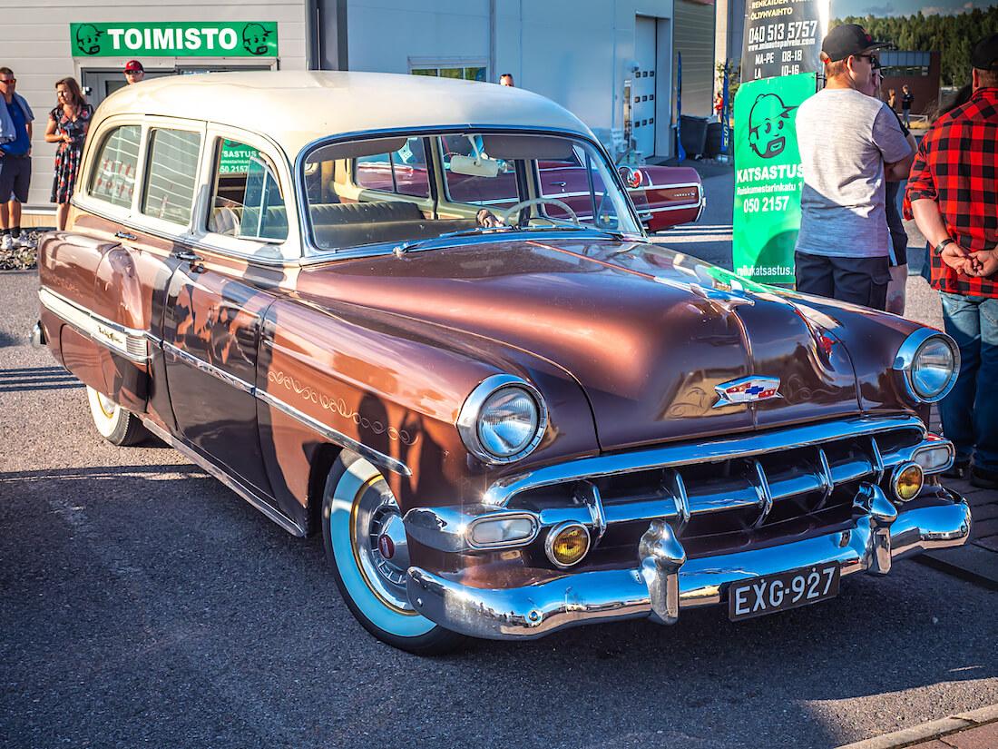 1954 Chevrolet BelAir wagon edestä