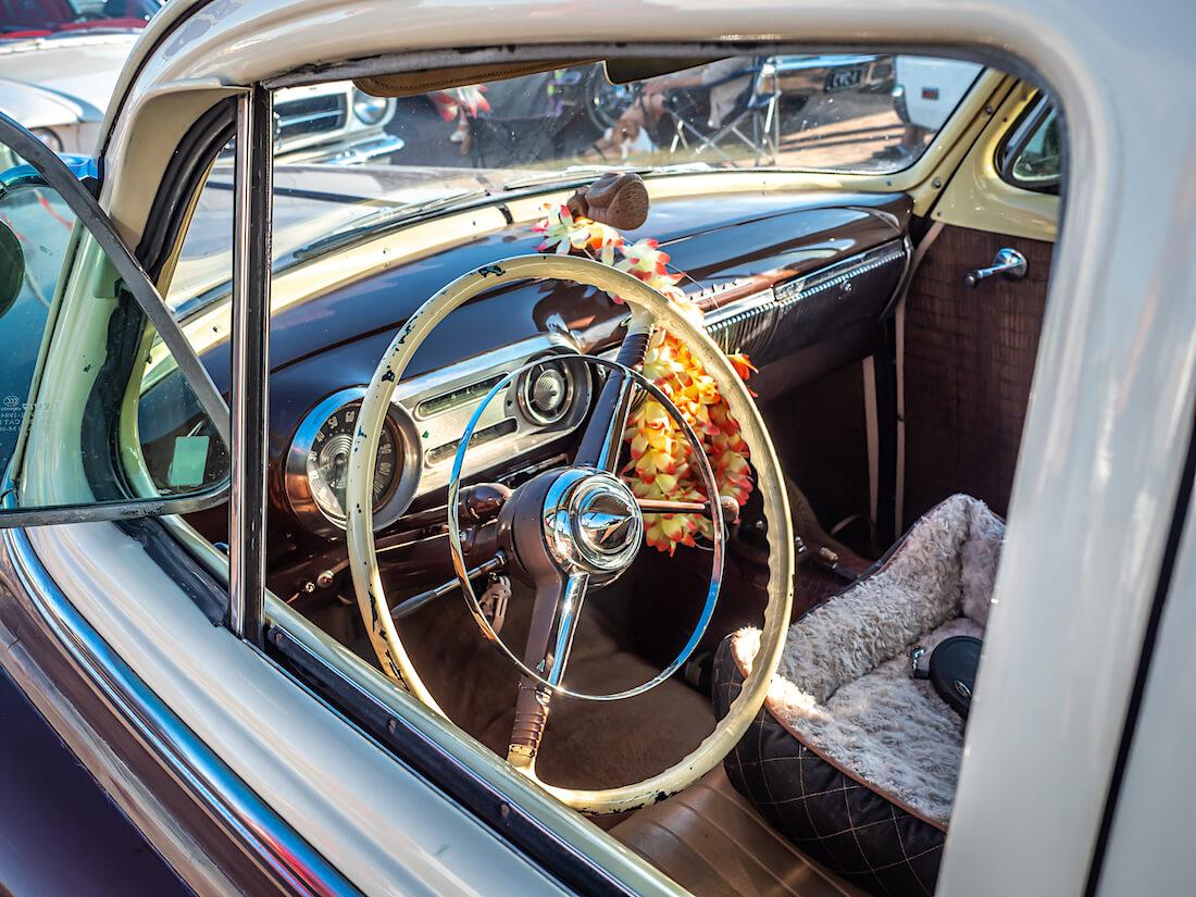 1954 Chevrolet BelAir wagonin ohjaamo