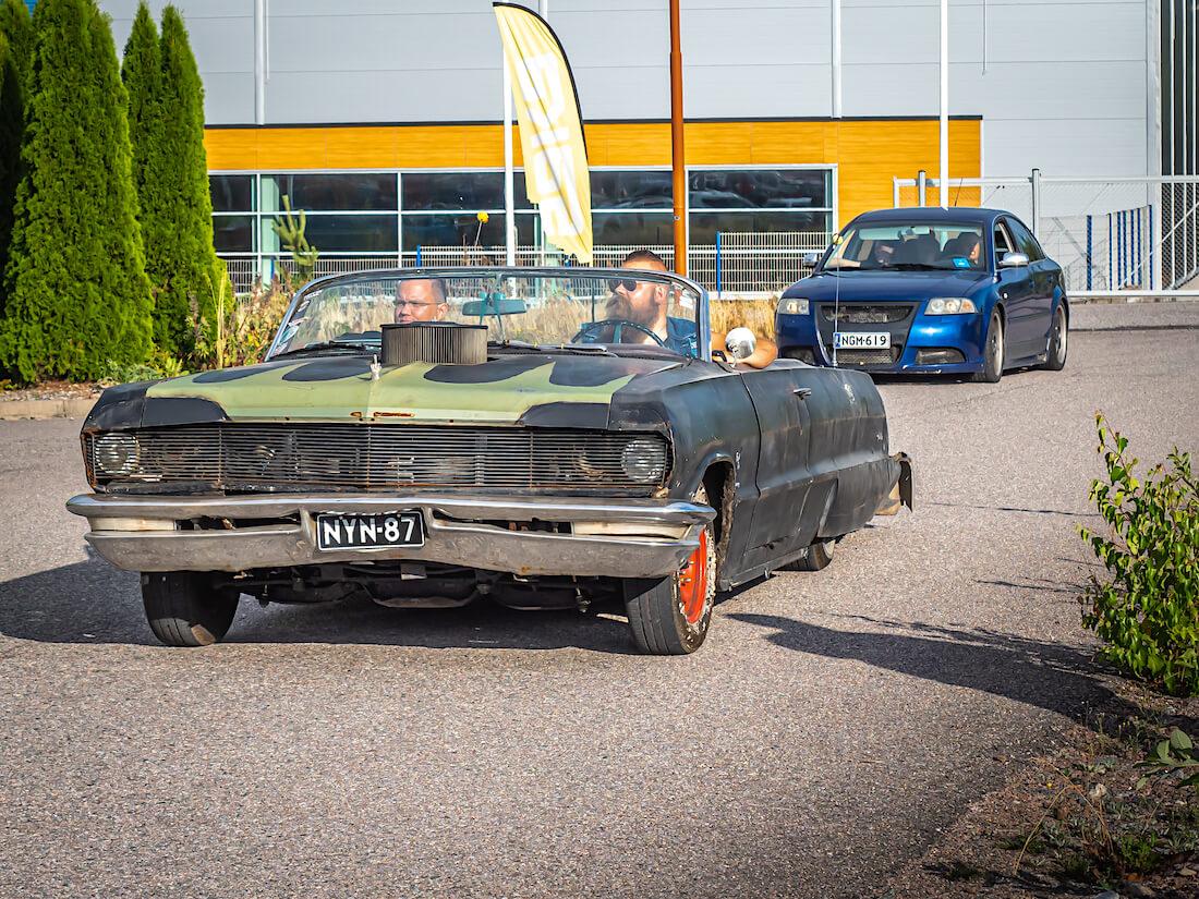 1964 Chevrolet Biscayne raggari-avo
