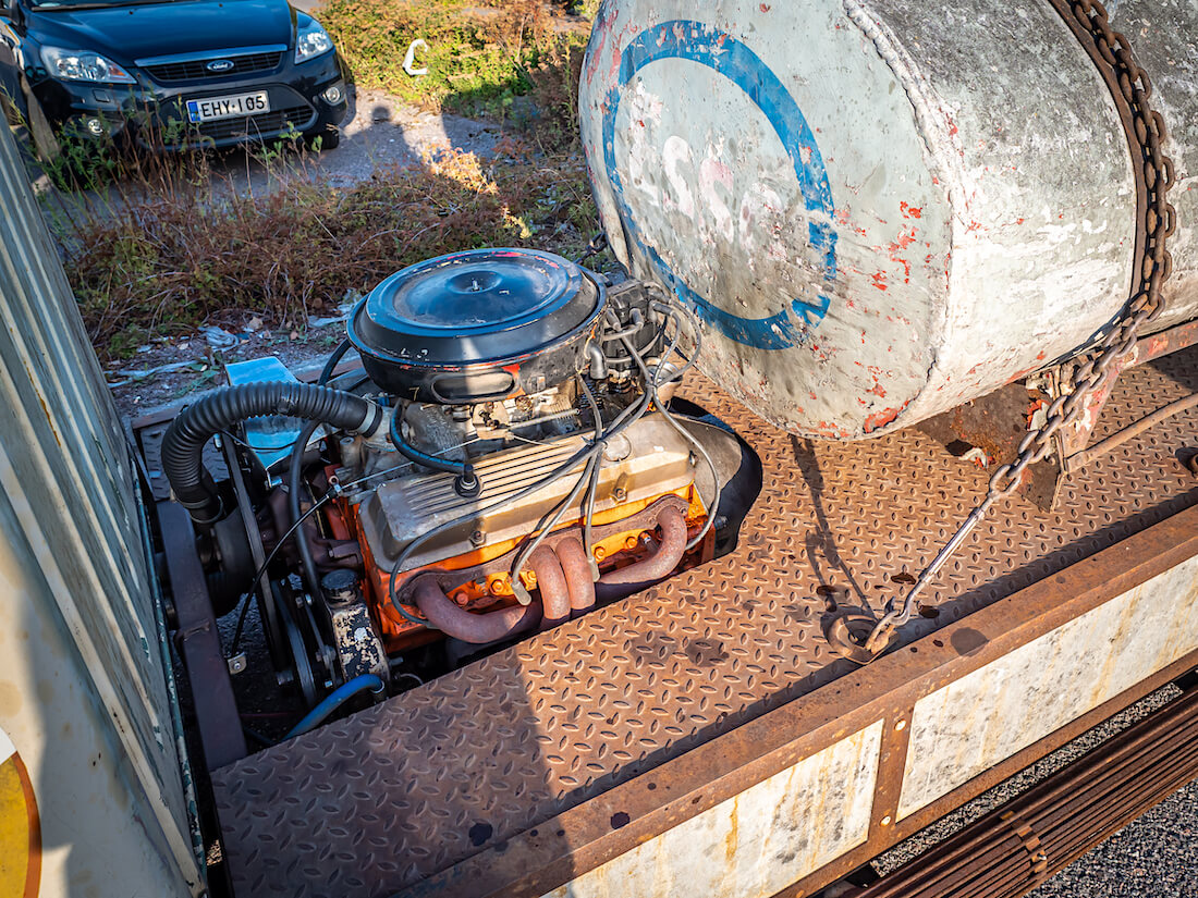 1965 Austin FG COE kuorma-auton keskimoottori
