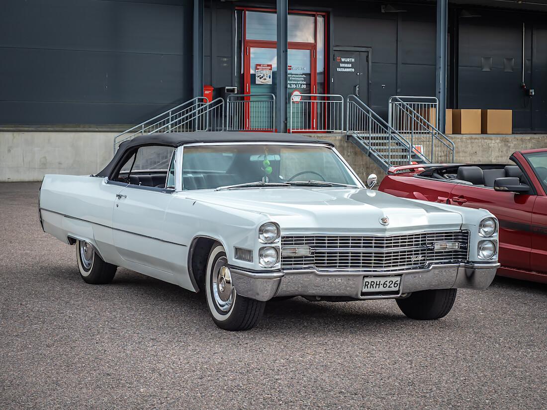1966 Cadillac DeVille Convertible avoauto