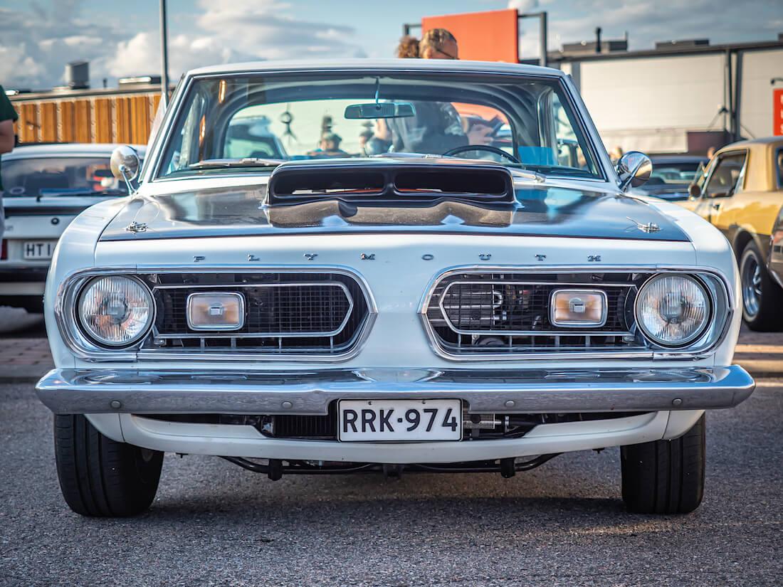 1967 Plymouth Barracuda Hemi edestä