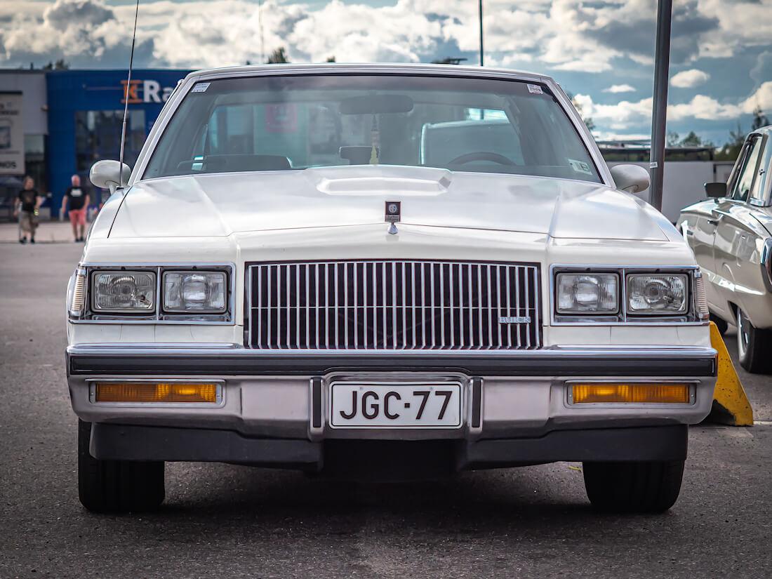 1987 Buick Regal T-type 3.8SFI Turbo edestä