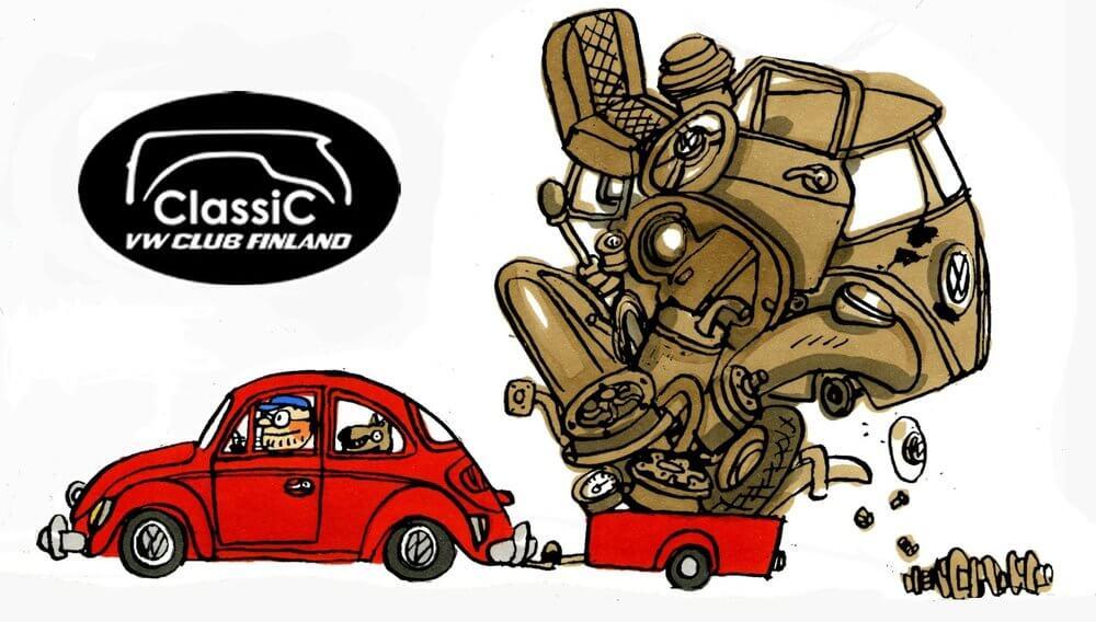 Classic VW Swap mainosjuliste