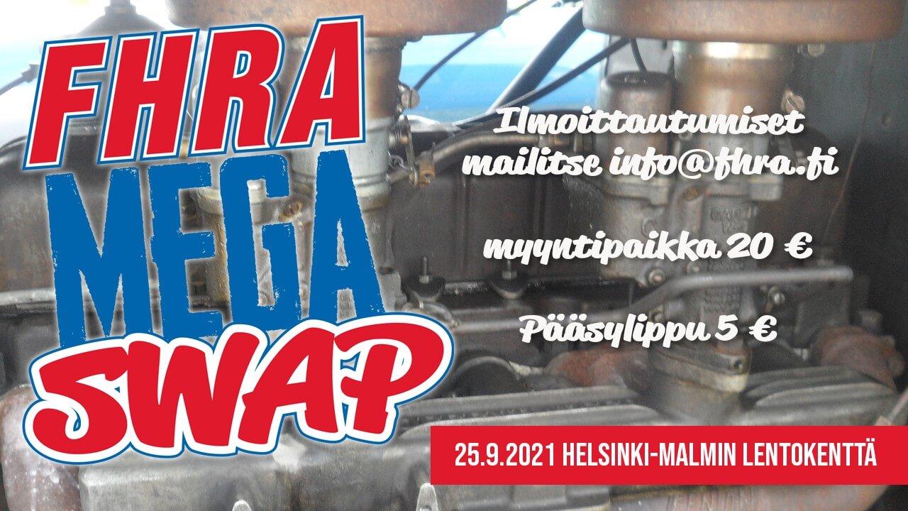 FHRA Mega Swap Malmilla 2021 mainos