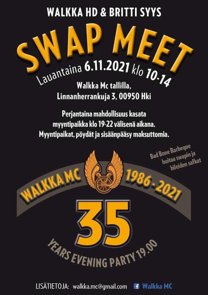 WalkkaMC Swap 2021 mainosjuliste